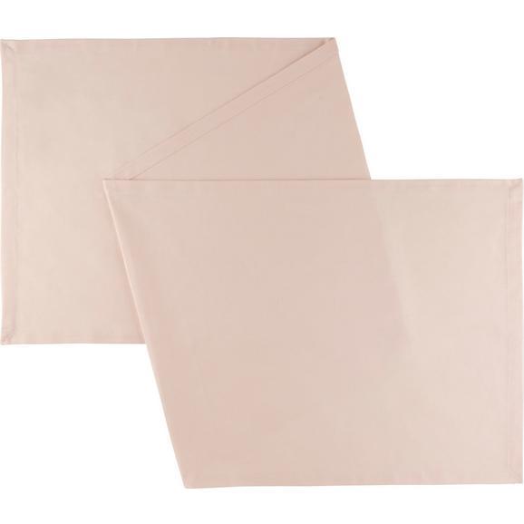 Dolg Nadprt Steffi - pastelno roza, tekstil (45/240cm) - Mömax modern living
