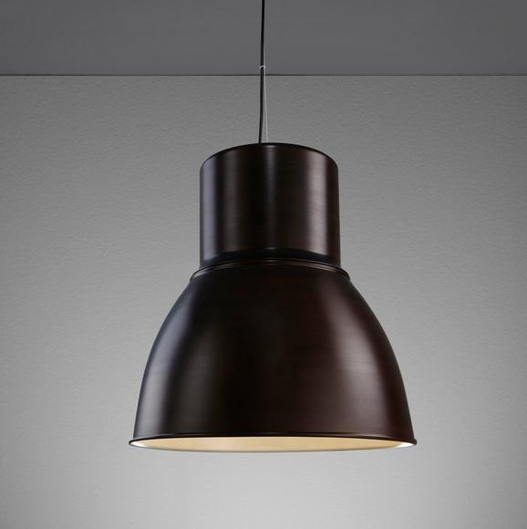 Hängeleuchte Victor - Braun/Weiß, MODERN, Metall (47/47/120cm) - Mömax modern living
