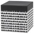 Cutie Pentru Cadouri Square - alb/negru, Modern, carton/hârtie (14/14/14cm) - modern living