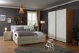 Zložljiv Tabure Step  -sb- - bela/zelena, Trendi, leseni material/les (30/30/43cm) - Premium Living
