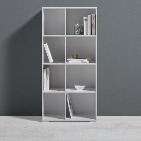 Regal Basic - Weiß, MODERN (60/123/29,5cm) - MÖMAX modern living