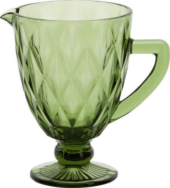 Stekleni Vrč Rocco - zelena, Trendi, steklo (14/19cm) - MÖMAX modern living