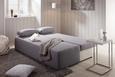 Sofa München - bijela/siva, KONVENTIONELL, tekstil/plastika (202/88/84cm) - Mömax modern living
