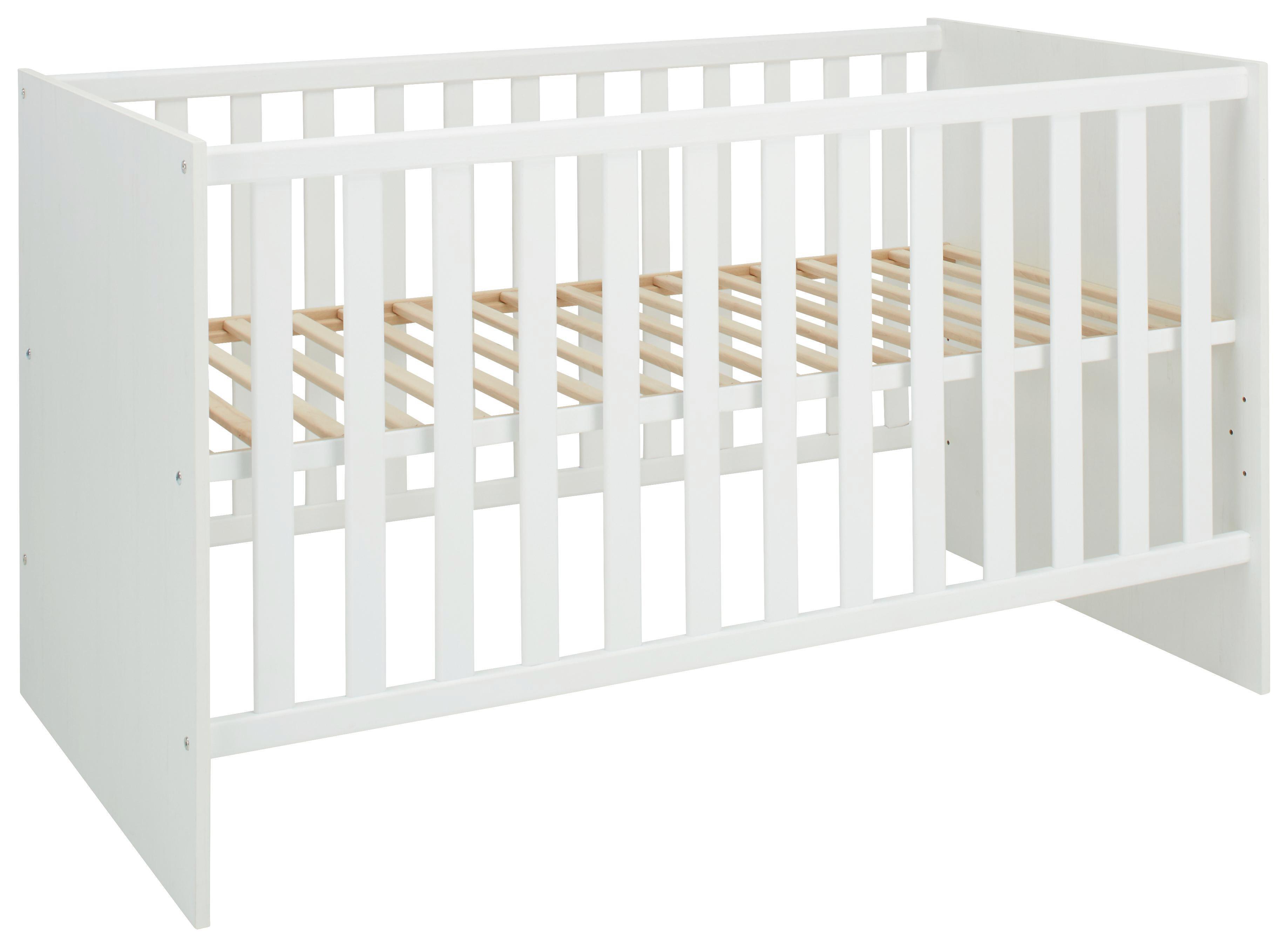 Gitterbett weiß 70x140cm. online kaufen ➤ mömax