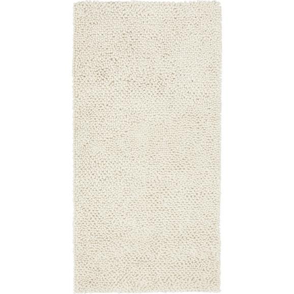 Teppich Hochflor Gemini ca. 70x140 cm - Naturfarben, MODERN, Textil (70/140cm) - Bessagi Home