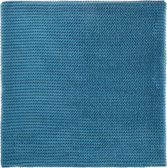 Kissenhülle Maxima, ca. 50x50cm - Türkis, KONVENTIONELL, Textil (50/50cm)