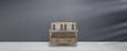 Sitzbank Savannah Antik - Braun, Holz (111/91/50cm) - PREMIUM LIVING