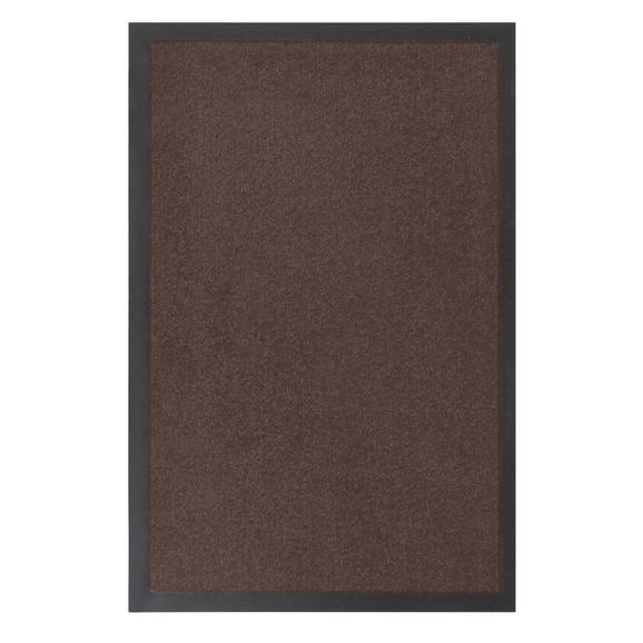Fußmatte Eton in Braun ca. 40x60cm - Braun, LIFESTYLE, Textil (40/60cm) - Mömax modern living