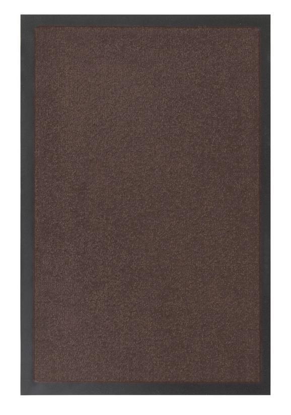 Fußmatte Eton in Braun, ca. 60x80cm - Braun, LIFESTYLE, Textil (60/80cm) - MÖMAX modern living