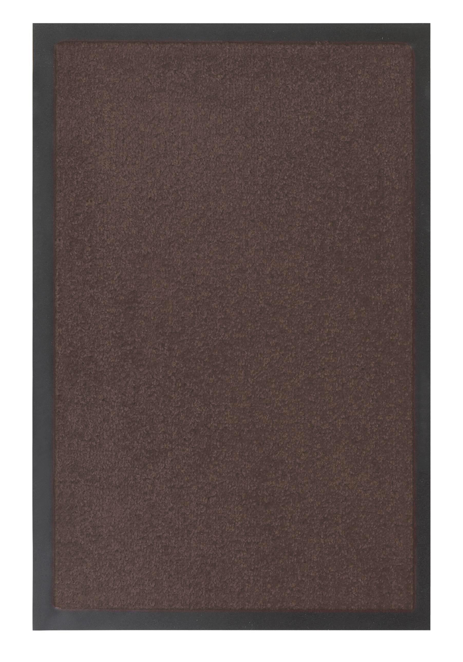 Fußmatte Eton in Braun, ca. 80x120cm - Braun, LIFESTYLE, Textil (80/120cm) - MÖMAX modern living