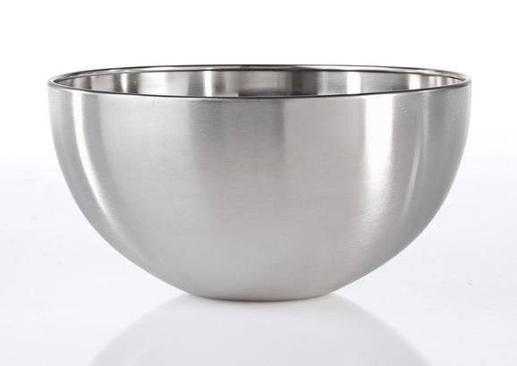 Skleda Vinzenz - nerjaveče jeklo, Moderno, kovina (19,5/9,5cm) - Mömax modern living