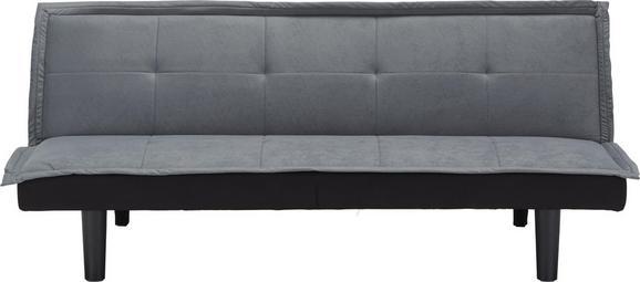Sofa Grau - Grau, MODERN, Holz/Kunststoff (174/71/81,5cm) - Modern Living