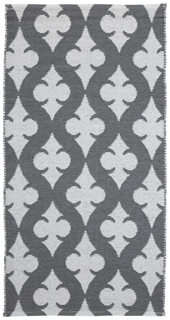 Outdoorteppich Club 70x140 cm - Weiß/Grau, MODERN, Textil (70/140cm) - MÖMAX modern living