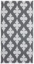 Outdoorteppich Club 70x140cm - Weiß/Grau, MODERN, Textil (70/140cm) - Mömax modern living