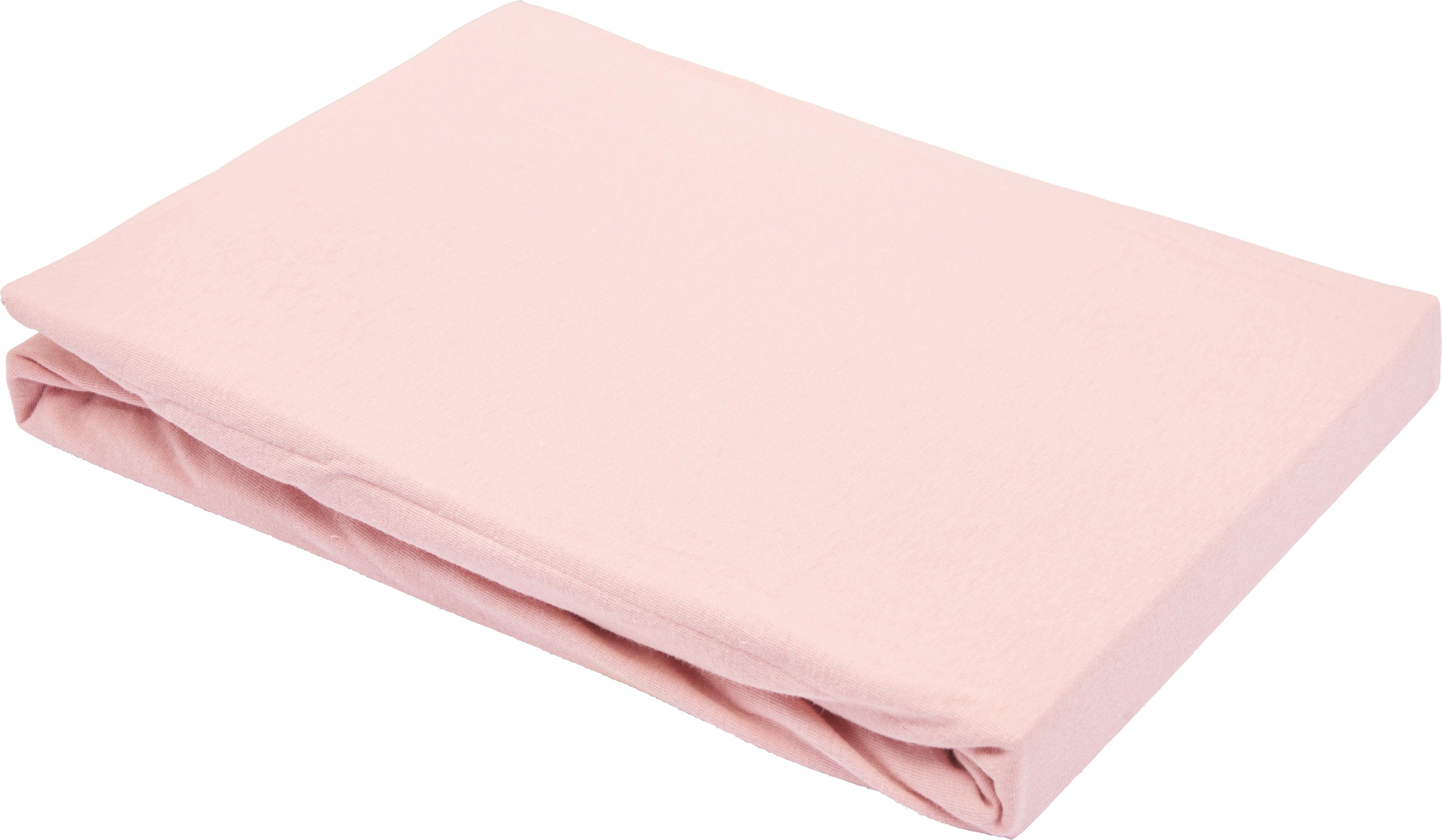 Spannbetttuch Basic in Rosa, ca. 100x200cm - Rosa, Textil (100/200cm) - MÖMAX modern living