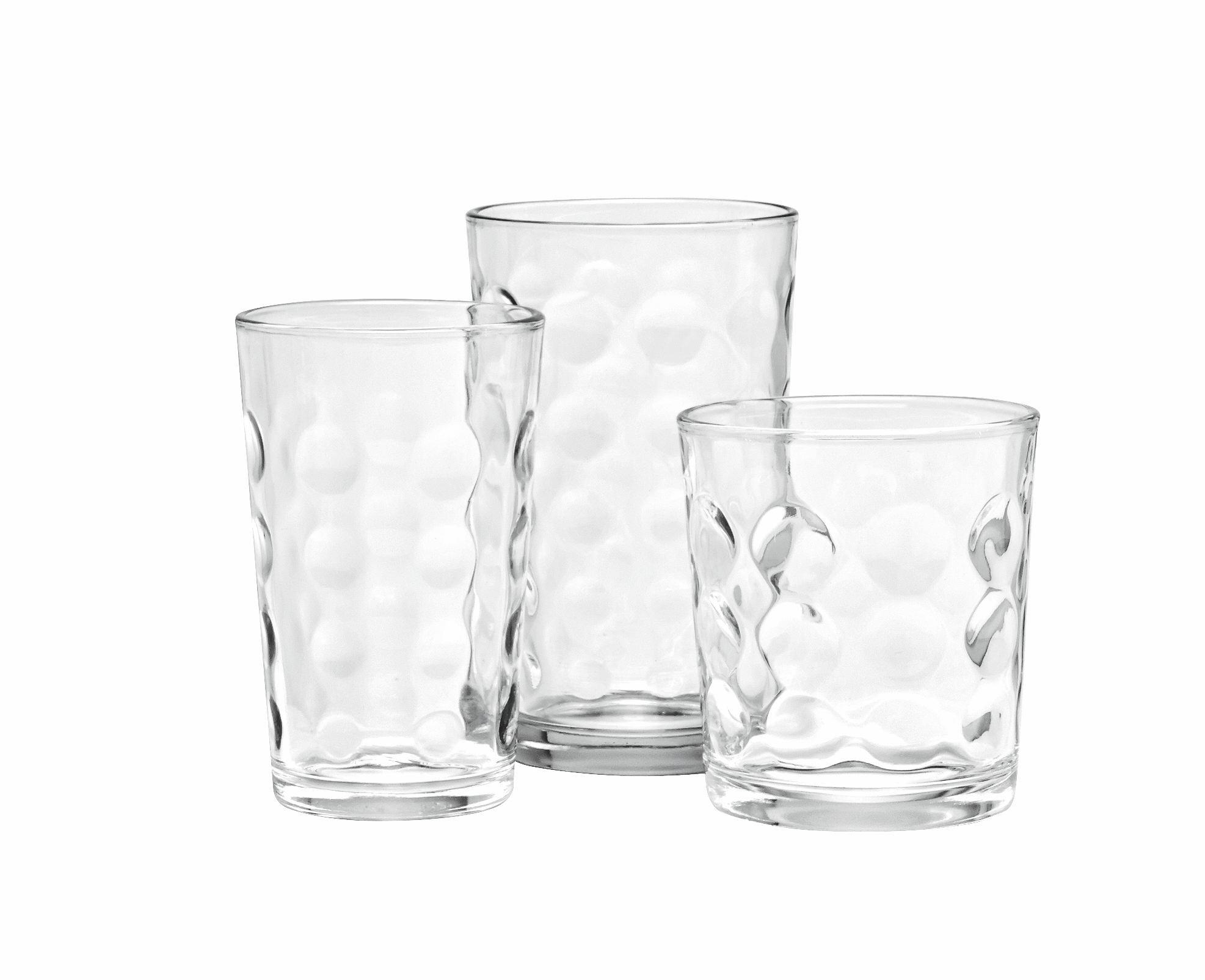 Set Kozarcev Cora - prozorna, steklo - MÖMAX modern living