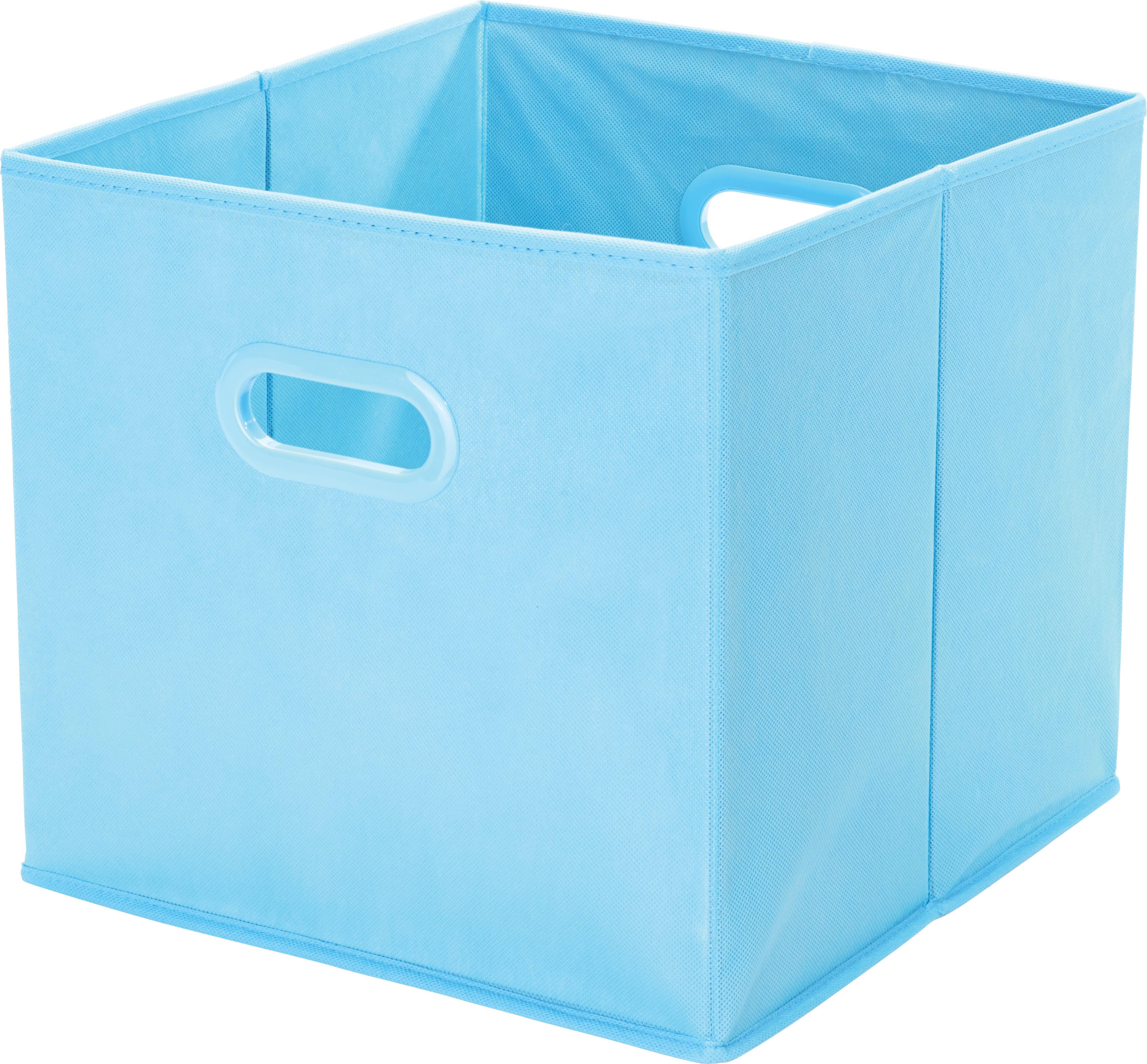 Tárolódoboz Elli - türkiz, konvencionális, műanyag/karton (33/33/32cm) - MÖMAX modern living