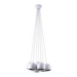 Hängeleuchte max. 40 Watt 'Emanuella' - Weiß, MODERN, Metall (15/113cm) - Bessagi Home