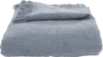 Wohndecke El Sol Hellgrau 150x200cm - Hellgrau, Textil (150/200cm) - Mömax modern living