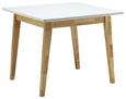 Tisch Harry ca.90x90cm - Eichefarben/Weiß, MODERN, Holz (90/75/90cm) - Mömax modern living