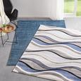 Tkana Preproga Bill 1 - modra, Moderno, tekstil (80/150cm) - Mömax modern living