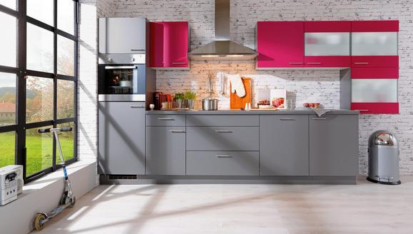 Kuhinjski Blok Win - roza/siva, leseni material (380cm) - EXPRESS