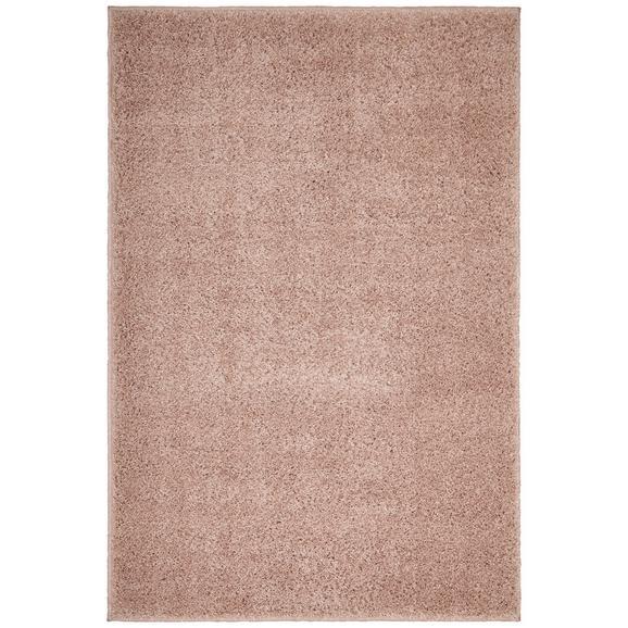 Hochflorteppich Bono in Beige ca. 100x150cm - Beige, KONVENTIONELL, Textil (100/150cm) - Based