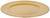 Dekoteller Milan Gold - Goldfarben, Kunststoff (33cm) - Mömax modern living