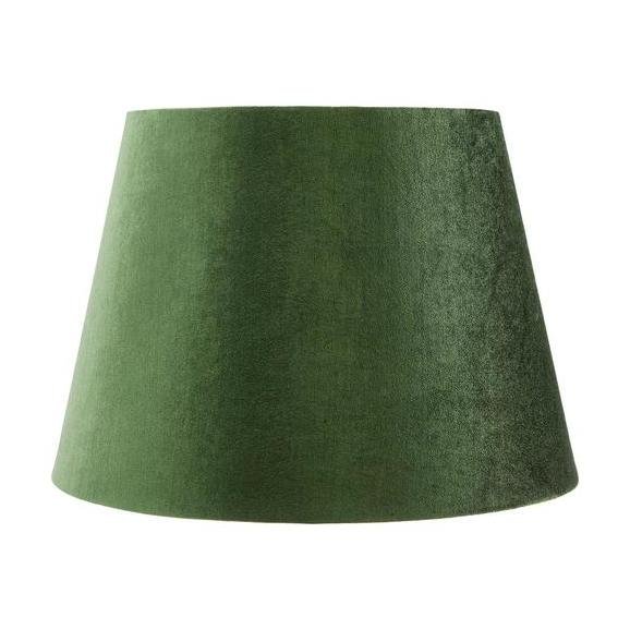 Abajur Pentru Lămpi Greeni - verde, Lifestyle, textil (20cm) - Modern Living