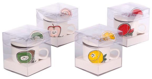 Skodelica Za Čaj Fruit - večbarvno, keramika (0,270l)