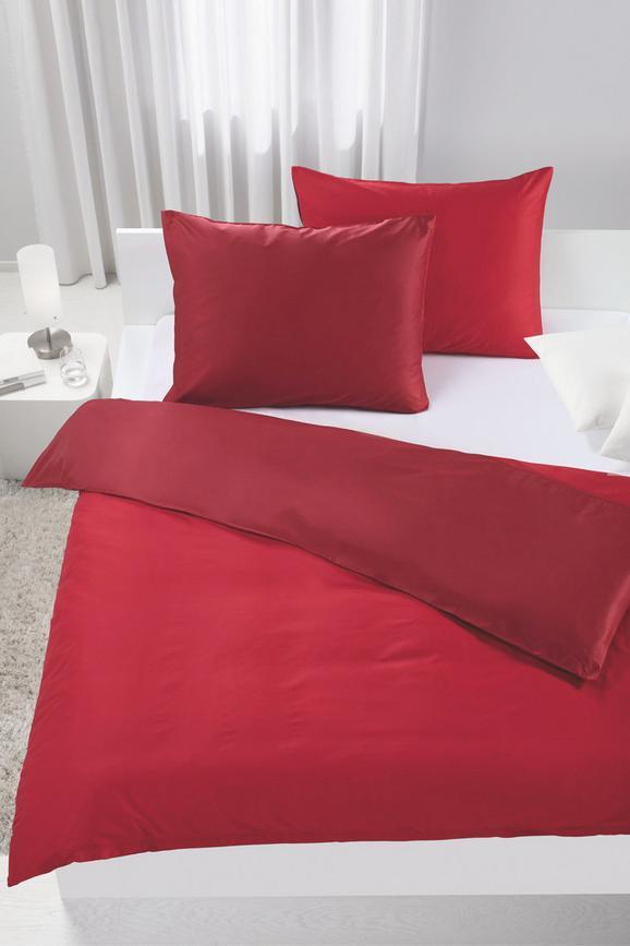 Ágyneműhuzat-garnitúra Belinda - piros/sötét vörös, textil (200/200cm) - premium living