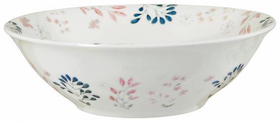 Schüssel Blossoms Multicolor - Multicolor, ROMANTIK / LANDHAUS, Keramik (16,2/5cm) - Mömax modern living