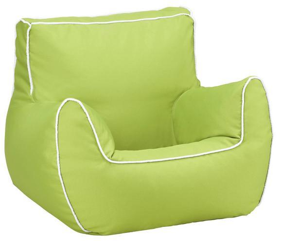 Otroški Stol Bamp Zelen - roza/modra, tekstil (65/50/60cm)
