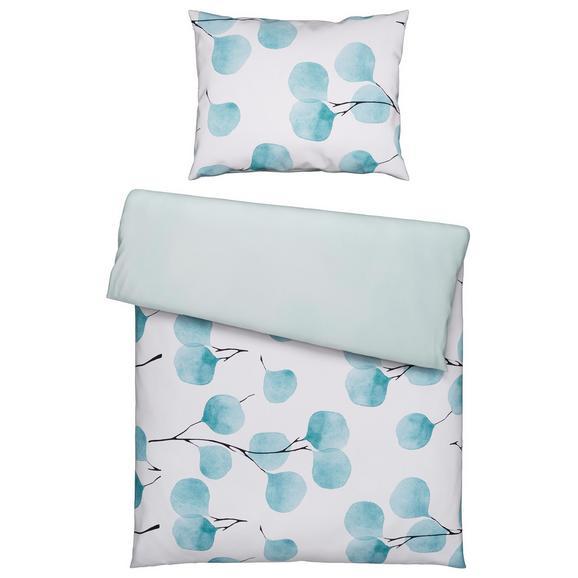Posteljnina Lisa - zelena, Moderno, tekstil (140/200cm) - Premium Living