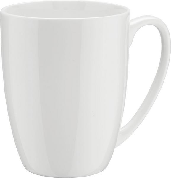 Kaffeebecher Bonnie in Weiß - Weiß, MODERN, Keramik (0,380l) - MÖMAX modern living
