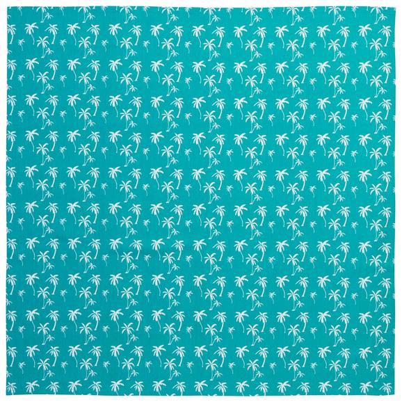 Terítő Lady Palms - Zöld, Lifestyle, Textil (85/85cm) - Mömax modern living