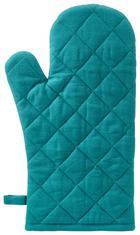 EDÉNYFOGÓ KESZTYŰ GREEN LEAF - Smaragdzöld, Textil (18/32cm) - MÖMAX modern living