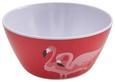 Schüssel Flamingo Couple in Pink - Pink, Trend, Kunststoff (14,7/6,8cm) - Mömax modern living
