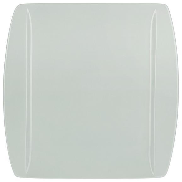 Speiseteller Pura aus Porzellan in Mintgrün - Mintgrün, MODERN, Keramik (25,3/25,5cm) - Mömax modern living