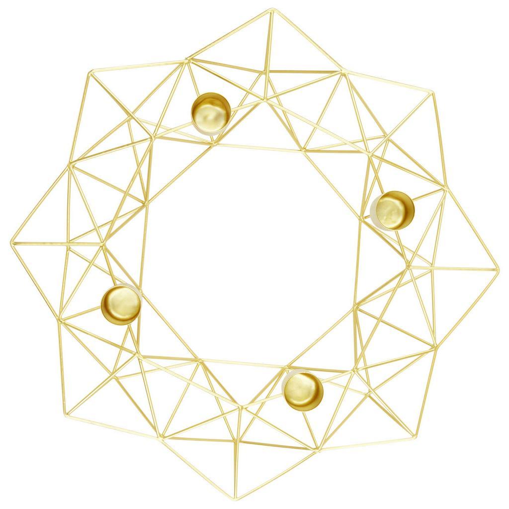 Kerzenhalter Magnus Gold