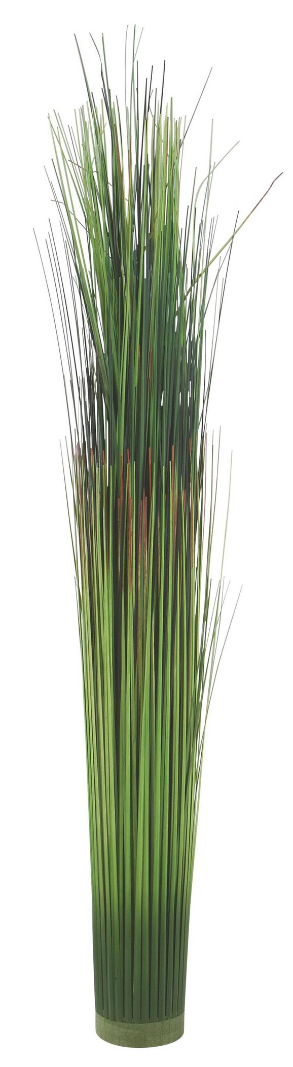 Grasbündel Markus in Grün - Grün, Kunststoff (75cm)