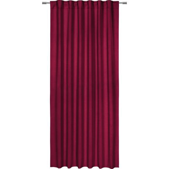 Verdunkelungsvorhang Riccardo Rot ca. 140x245cm - Beere, Textil (140/245cm) - Premium Living
