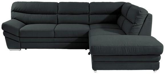 Sedežna Garnitura Victory - črna/krom, Konvencionalno, kovina/tekstil (264/217cm) - Premium Living