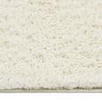Shaggy Stefan in Weiß ca. 80x150cm - Weiß, MODERN, Textil (80/150cm) - Mömax modern living