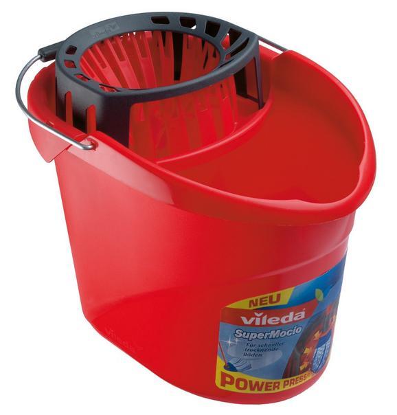 Vödör F25317 Vileda - Piros, konvencionális, Műanyag (15l)