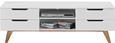 Phonotisch in Weiß/Eichefarben - Eichefarben/Weiß, MODERN, Holz/Holzwerkstoff (150/47,5/45cm) - Mömax modern living