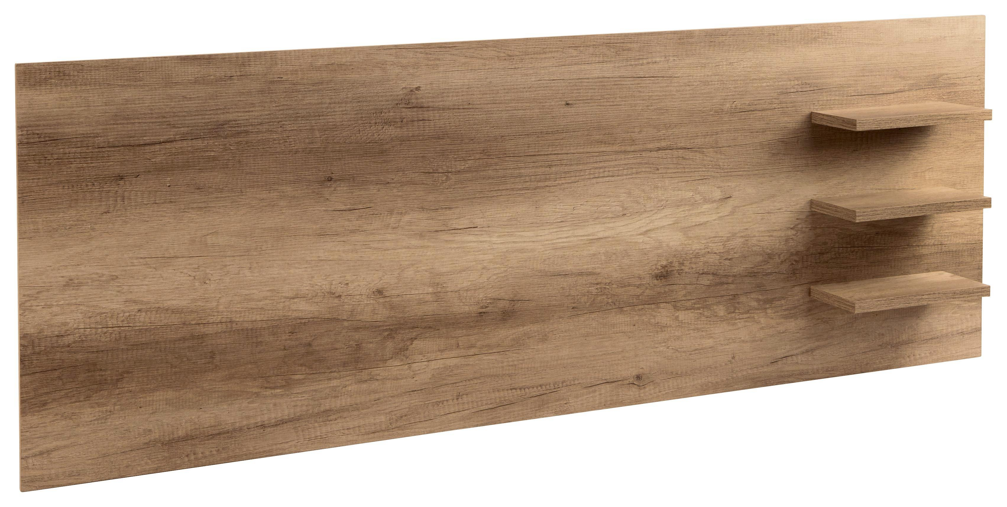 TV-RÁTÉT KASHMIR - tölgy színű, modern (185/70/18cm) - JAMES WOOD