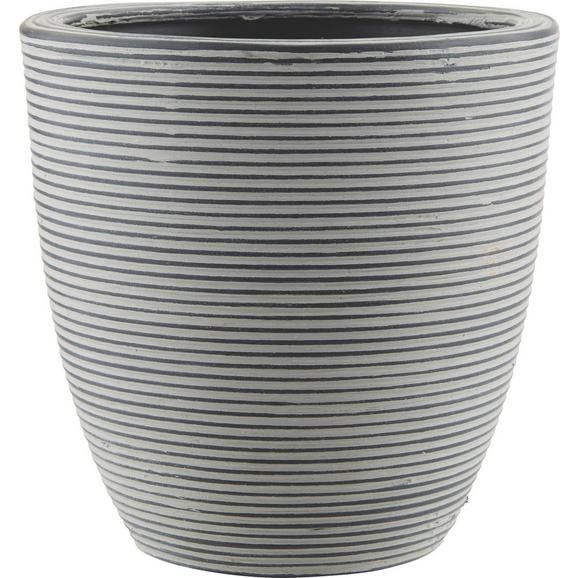 Cvetlični Lonček Marlene - S - črna, Trendi, umetna masa (15/15cm) - Mömax modern living