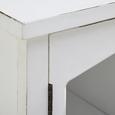 Sideboard Florina - Braun/Weiß, MODERN, Glas/Holz (100/78/34cm) - Modern Living