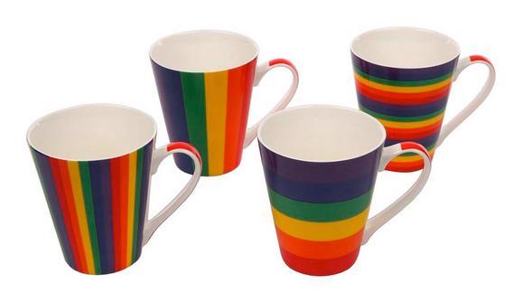Skodelica Rainbow - večbarvno, keramika (0,315l)